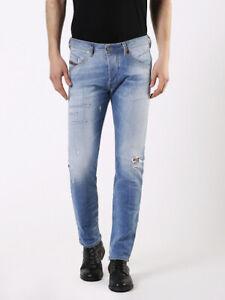 Diesel Men`s Jeans Size 28 BELTHER Regular Slim-Tapered W28 L32 RRP: 200 EUR