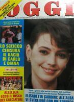 OGGI N.48 1986 ELISABETTA GARDINI LADY D.