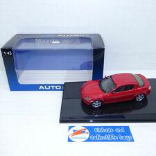 Autoart 1:43 | Mazda RX-8 - Red 55922 RX8 Sport Car Auto Art Diecast Model