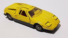 Mercedes-Benz C111 Flügeltürer gelb 1/43 von Märklin RAK Germany 70erJahre