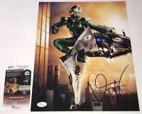 WILLEM DAFOE Signed 11X14 SPIDER-MAN Green Goblin IN PERSON Autograph JSA COA
