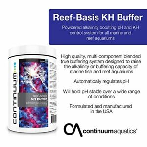 CONTINUUM KH BUFFER POWDER ADDITIVE FOR REEF AQUARIA (High Quality)