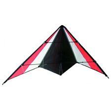 Kompletter Drachen Sport-Lenkdrache 1,30 Meter Spannweite inkl Schnur rot/weiß