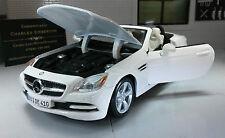 G 1:24 Scale Mercedes SLK Class 2011 31206 R172 V6 V8 Detailed Maisto Model Car