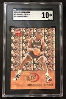 1992 Fleer Ultra All-Rookies Shaquille O'Neal Rookie Card #7 SGC 10 -Comp PSA 10