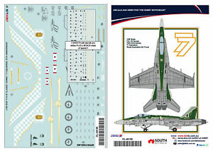 1/48 F/A-18 Hornet - RAAF 77 SQN 70th Anniversary DEKL's II