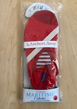 Fitkicks Maritime Collective Red - Anchors Away Women Size Small 5.5 - 6.5
