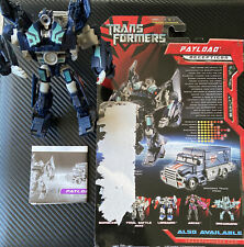 Transformers Movie PAYLOAD Complete Deluxe 2007 Figure