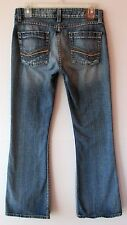 bke Buckle Star 20 Denim Stretch Jeans Size 29 x 31 1/2 Ultra low Rise Flare