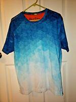 ROBERT GRAHAM Men's Blulios Ombre Graphic T-Shirt in Multi Size Medium