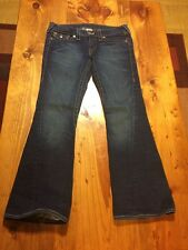 Women's True Religion Joey Low Rise Twisted Seam Jeans Good Cond. Size 29 X 28