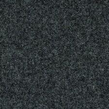 English Wool Upholstery Fabric Mid Century Dark Gray Melange BY THE YD 679/81 GF