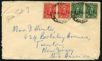 BRITISH SOUTHERN RHODESIA to USA cover