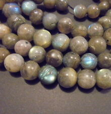 5 PERLES RONDES PIERRE NATURELLE INDE LABRADORITE 10mm NATURAL STONE BEADS INDIA