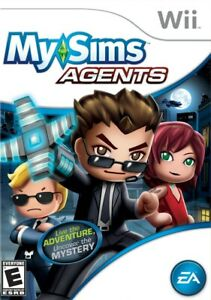 MySims Agents - Nintendo  Wii Game