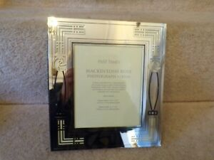 Past Times SIlver Plated MACKINTOSH ROSE PHOTOGRAPH ALBUM 8 X 9 INCHES