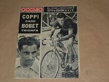 CICLISMO-FAUSTO COPPI-BARTALI-BOBET-ALFREDO BINDA-GHIDINI-CIANCOLA-FILIPPI-MASPE