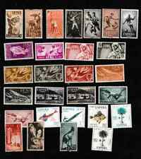 #3359=Ifni mixed selection of different commemorative stamps