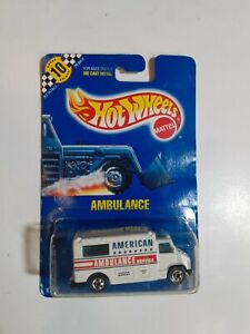 Hot Wheels Ambulance Toy Car Made In 1990 (31 Years Old) Rare #71