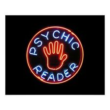"New Psychic Reader Reading Neon Sign 20""x16"" Ship From USA"
