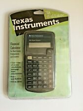 Texas Instruments BA Real Estate Scientific Financial Calculator New Sealed.