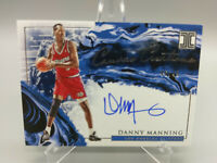 Danny Manning Auto 46/49 Impeccable 2019 2020 Canvas Creations | LA Clippers