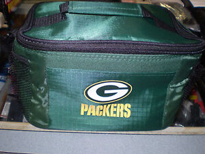 NFL GREEN BAY PACKERS  6 PACK COOLER NEW NWT