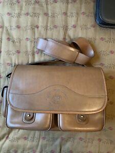 marley hodgson ghurka bag safari leather