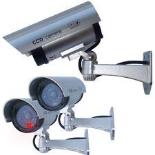 3 Stück IR Kamera Attrappen Kameraattrappe Überwachungskamera Dummy Video Camera