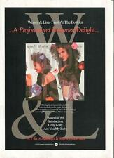 WENDY & LISA (Prince) Fruit At The Bottom UK magazine ADVERT / mini Poster 11x8""