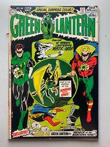 Green Lantern #88 • DC Comics 1972 • Signed by Neal Adams • VG 4.0