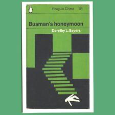 Postcard - Busman's Honeymoon - Dorothy L. Sayers - Penguin Book Cover Postcard