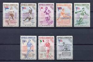 27905) DOMINICANA REP. 1957 MNH** Nuovi** Olympic G.