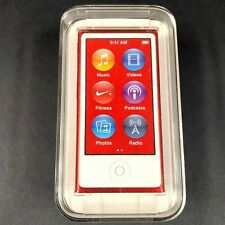 Apple Ipod Nano 16BG Special Product Red A1446 7th Generation Factory Sealed
