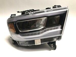2019 2020 Dodge Ram 1500 Headlight Right RH Passenger Full LED Dual OEM
