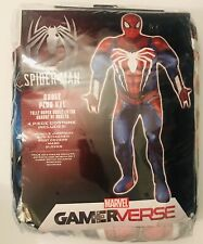 Marvel PS4 Gamerverse Spiderman Adult Plus XXL 2XL 4 Pc. Muscle Cosplay Costume