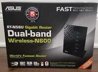 Asus RT-N56U Dual Band Wireless-N600 Gigabit Router GREAT WORKING