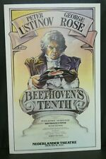 "Beethoven's Tenth Theater Broadway Window Card Poster 14"" x 22"""