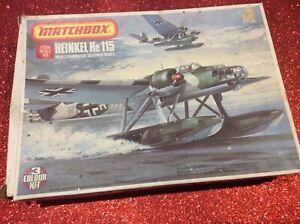 Matchbox 1/72 Heinkel He 115 (STARTED)