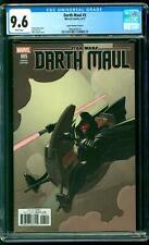 Darth Maul 5 CGC 9.6 NM+ Emperor Palpatine David López Variant Star Wars Marvel