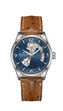 Hamilton Jazzmaster Blue Dial Ope Heart Automatic H32705041 100% Authentic