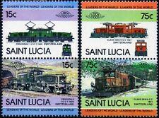 SWISS FEDERAL RAILWAYS (SBB Switzerland) Collection 4 x Crocodile Train Stamps