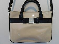 NWT KATE SPADE HANDBAG PRIMROSE HILL PATENT GOLDIE  DOE BLACK $428