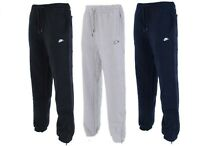 Nike Mens Fleece Joggers 3D Logo Tracksuit Bottoms Training Jogging Pants S M L