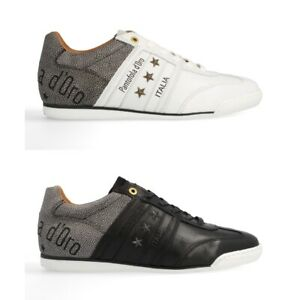 Pantofola d'Oro Imola Moda Uomo Low Herren Sneaker   Turnschuh   Sportschuh   Le