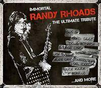IMMORTAL RANDY RHOADS-ULTIMATE TRIBUTE  CD NEU