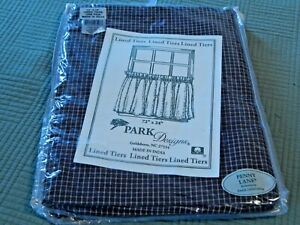 Park Designs - Penny Lane Lined Tiers 72 x 24 Inches NIP