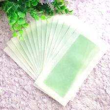 100 Pcs Hair Removal Depilatory Nonwoven Epilator Wax-Strip Paper Roll Waxing