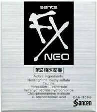 Santen Sante FX Neo Eye Drops 12ml exhaustion of tired eyes Japan F/S