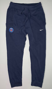 Nike x PSG Paris Saint Germain Taper Fit Fleece Joggers - Navy - M